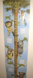Where the Wild Things Are growth chart