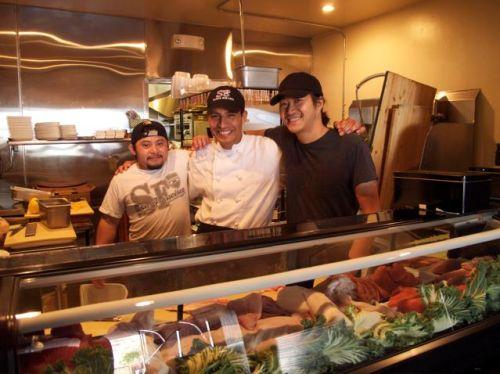sushi bistro chefs
